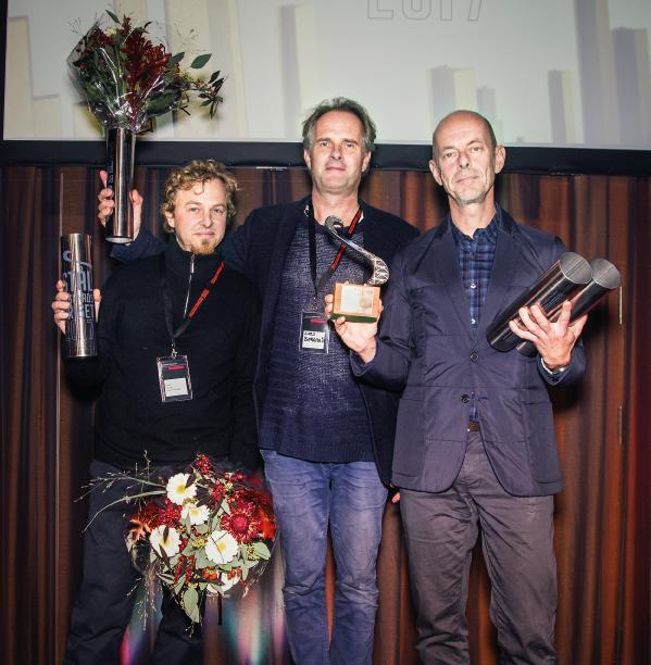 Priser och hyllningar mottogs av Mats Bigert och Lars Bergström, Bigert & Bergström samt Lasse Hässler, Komposit och Mekanik.