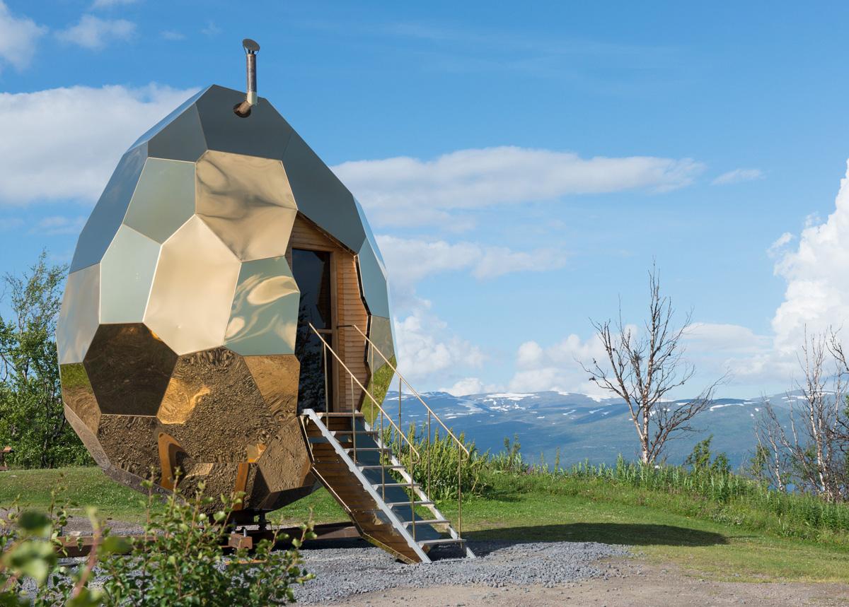 Solar Egg, vinnande projekt av Stålbyggnadspriset 2017.